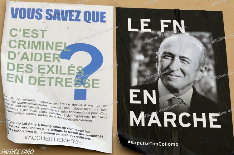 affiche politique - Photo Patrice Faro
