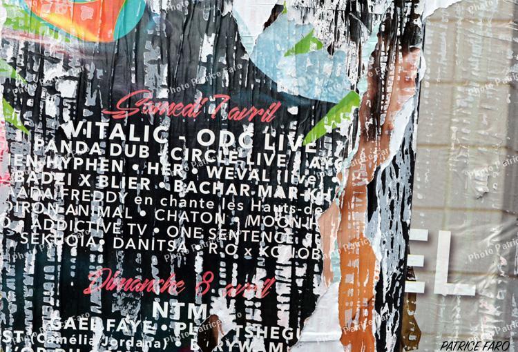 galerie affiches déchirées - Photo Patrice Faro